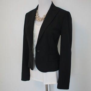 THE LIMITED Size 2 Black Suit Jacket Blazer